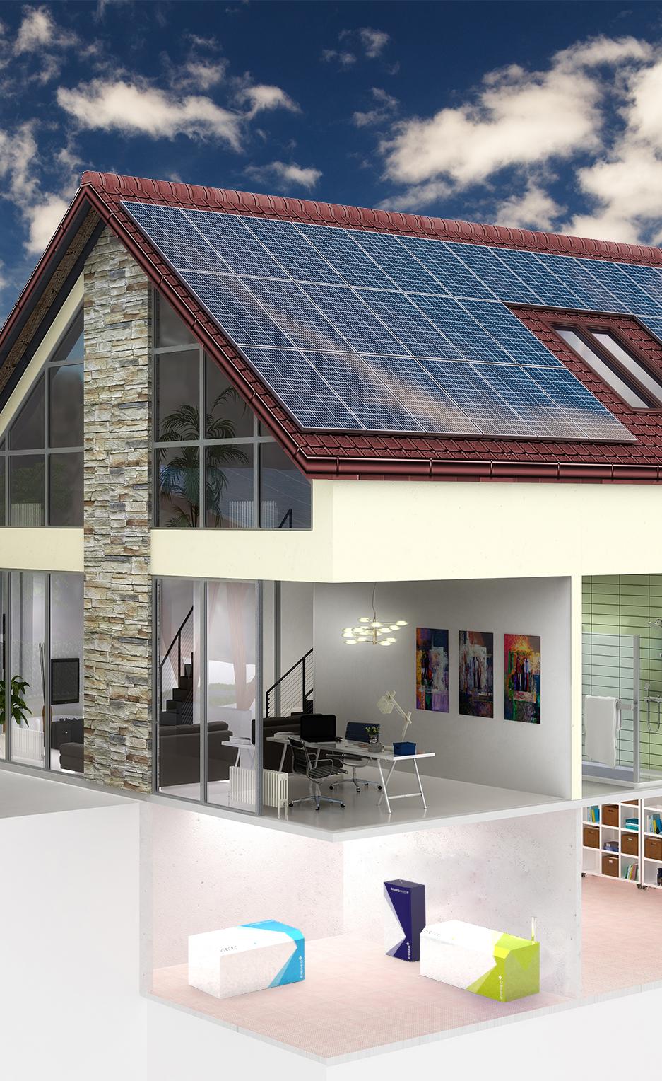 Haus mit ereneo hybrid